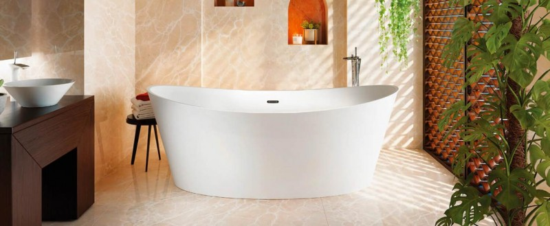 Bainultra evanescence bathtub
