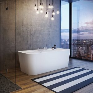 Maax Oberto 106386 Freestanding Bathtub