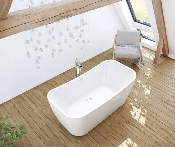 Maax Villi 106388 Freestanding Bathtub