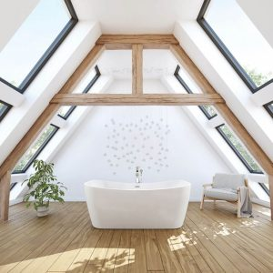 Maax Villi 106388 Freestanding Bathtub
