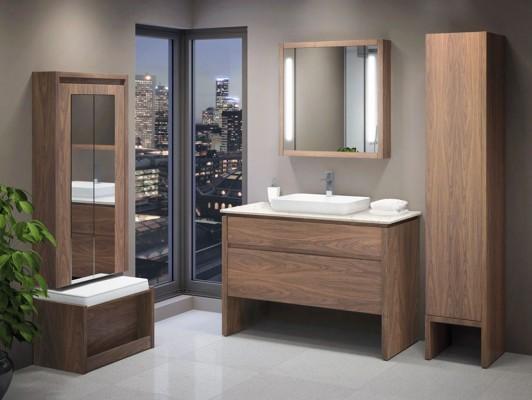 Vanico Transitional Desk Vanity