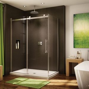 "Fleurco Novara 2 Sided Crp, 75"" H Shower Door"