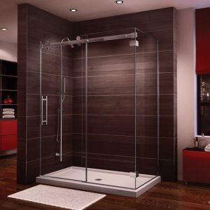 "Fleurco Novara 2 Sided Shower Door Cw, 75"" H"