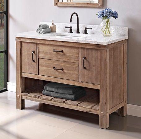 Fairmont Designs Napa Vanity Open Shelf - Sonoma Sand