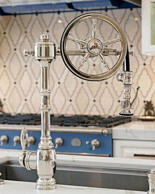 Waterstone Wheel Pulldown Faucet
