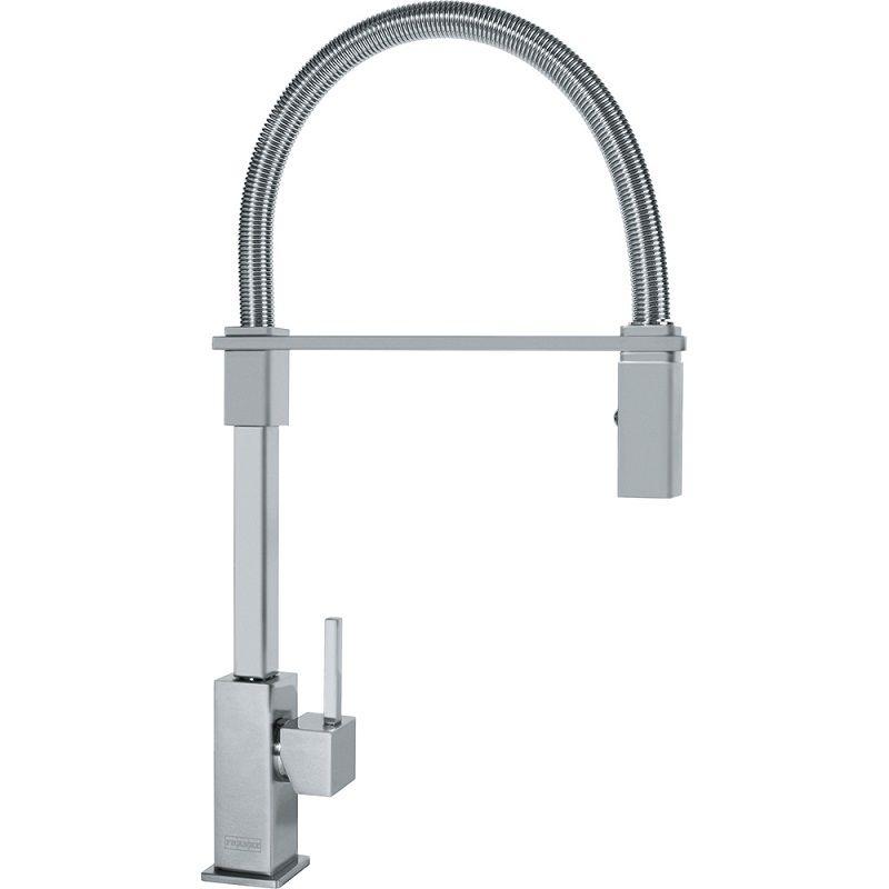 Franke FF2800 Planar 8 Kitchen Faucet satin nickel