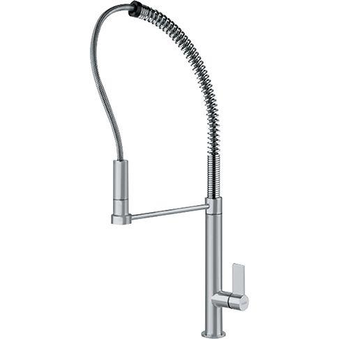 Franke FFPD2000 MasterChef Single Hole Kitchen Faucet satin nickel