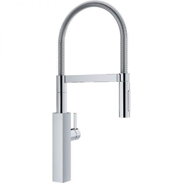 Franke Crystal FFPD4600 Single Hole Kitchen Faucet Chrome