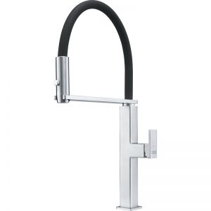 Franke FFPD5550 Peak Stainless Steel-Black Kitchen Faucet