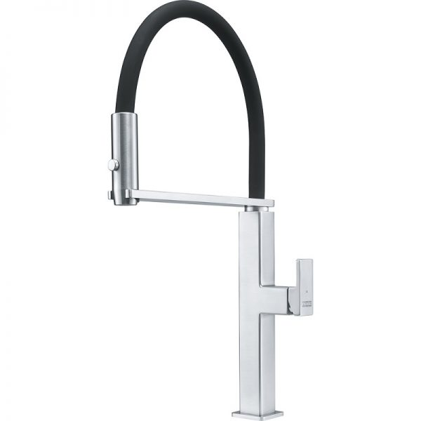 Franke FFPD5550 Peak Stainless Steel-Black Kitchen Faucet
