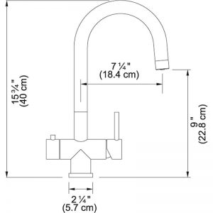 Franke FFT3350 Cube Kitchen Faucet