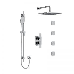 Thermostatic Showers With Body Jets
