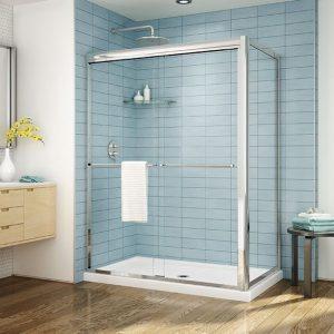 Fleurco Cordoba Plus 2 Sided Shower Door Chrome