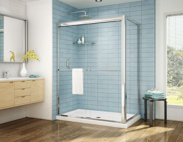 Fleurco Cordoba Plus 2 Sided Shower Door Chrome