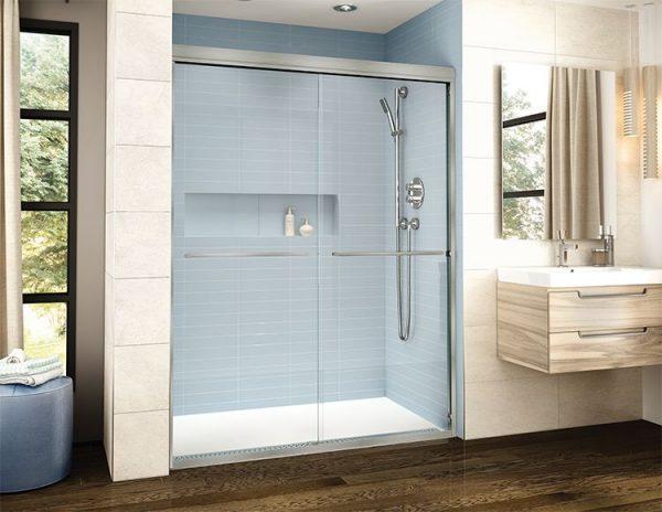 Fleurco Cordoba Plus In-Line Bypass Shower Door