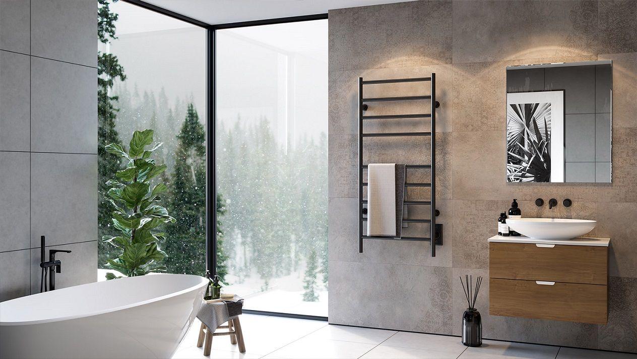 ICO Kontour Towel warmer