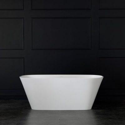 Vetralla Freestanding Bathtub Matte White Tub
