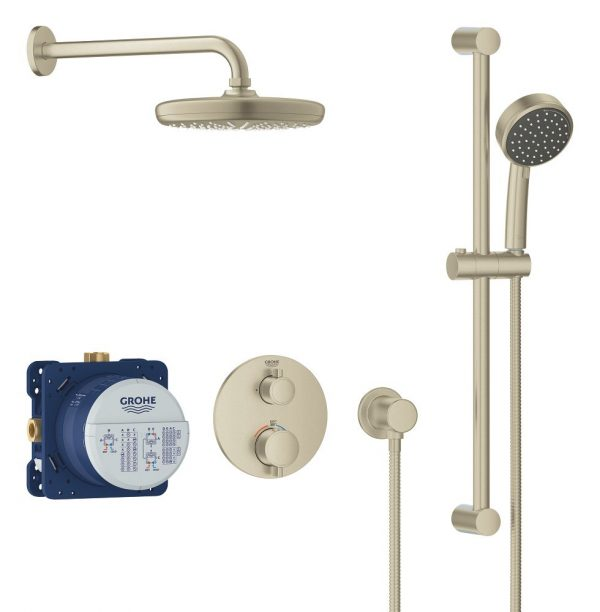 Grohe 34745EN0 Grohtherm Cube Shower Set Shower Kit