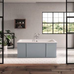 Cheviot Clarence 2199-WW Cast Iron Freestanding Bathtub