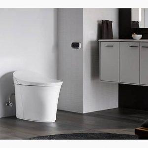 kohler k-5401-pa-0 veil intelligent comfort height toilet