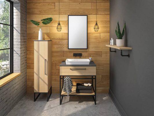 vanico Fuzion Powder Room Vanity