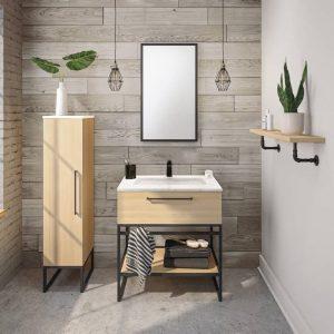 Vanico Maronyx Fuzion Powder Room Vanity