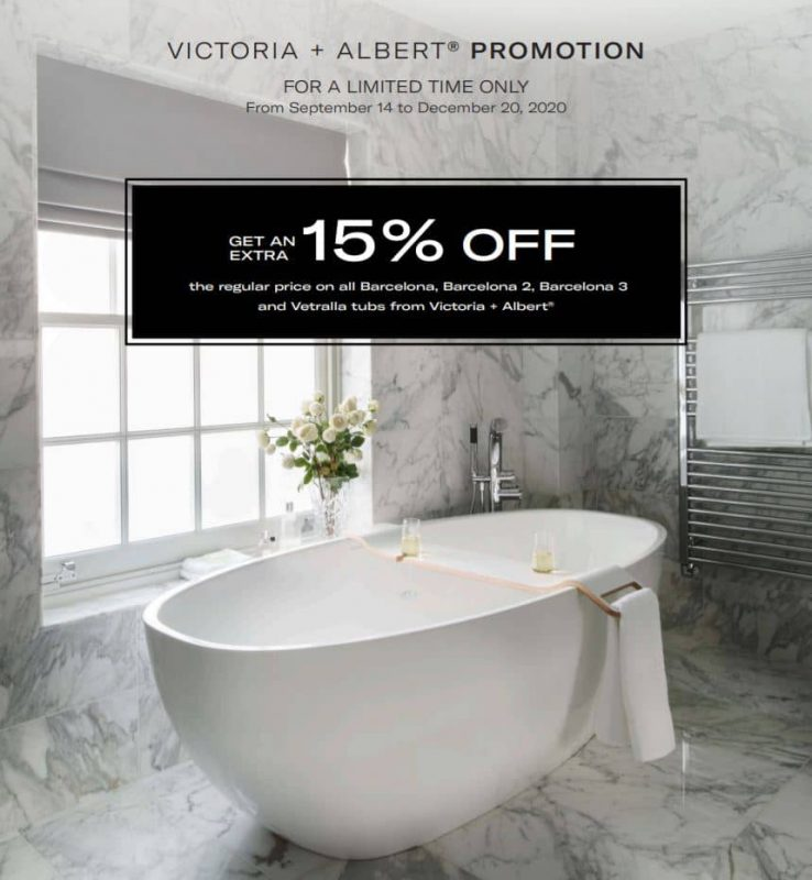 Victoria and albert Promotion