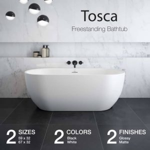 Maax Tosca Freestanding Bathtub