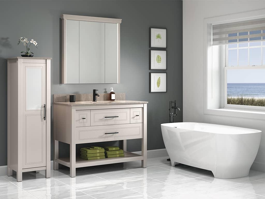 Vanico Maronyx Bathroom Console Rendez-Vous Transitional Vanity Toronto