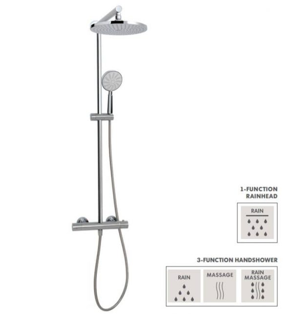 Aquabrass Pila 52N35 Shower Column