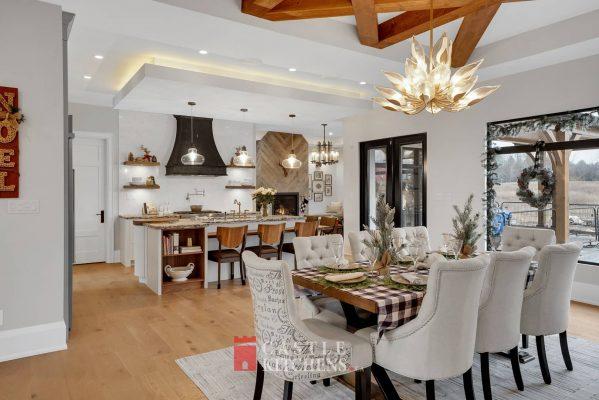 smart dining area