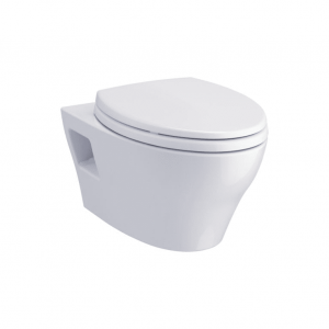 TOTO EP CWT428CMFG#WH Wall-Hung Toilet & DuoFit In-Wall Tank