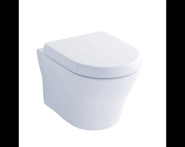 TOTO CT437FG#01 MH Wall-Hung Dual-Flush Toilet