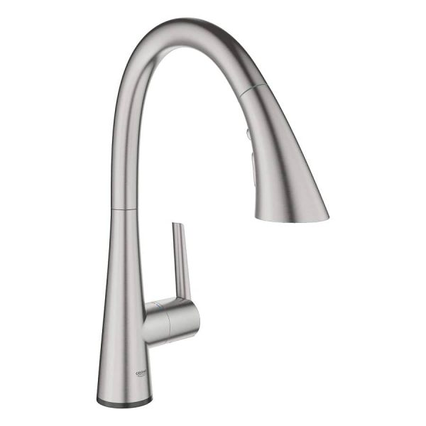 Grohe 30205DC2 LadyLux L2 Kitchen Faucet SuperSteel Infinity Finish