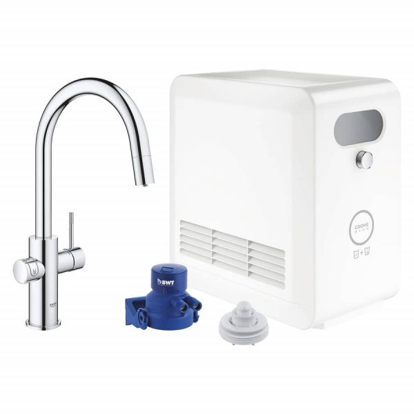 Grohe 31251002 Blue Kitchen Faucet Chilled & Sparkling Water