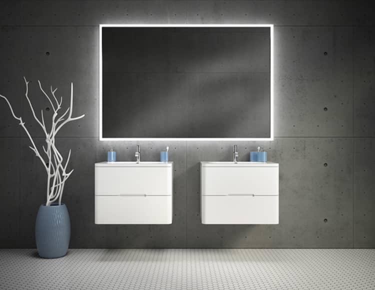 Fleurco Luna Halo LED Mirror ML6036H