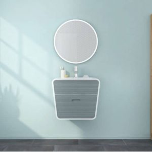 Fleurco MHAR2424 Halo Round LED Mirror