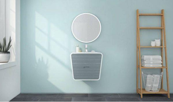 Fleurco MHAR2424 Halo Round LED Mirror