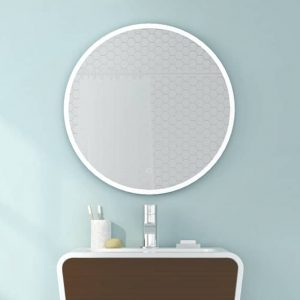 Fleurco Halo Round LED Mirror
