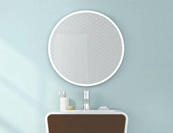Fleurco Halo Round LED Mirror