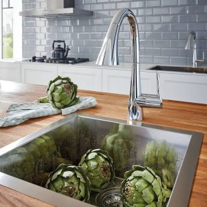 Grohe 30368002 LadyLux L2 Bar Kitchen Faucet StarLight Chrome