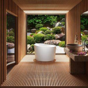 Bainultra Beone 4639 Freestanding Bathtub Featured