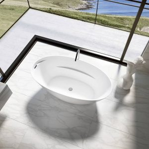 Bainultra Celestia 6635 Freestanding Bathtub Closeup