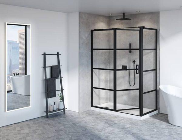 Fleurco Pivot Latitude Shower Door