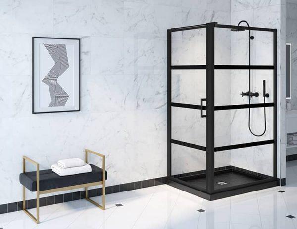 Fleurco Latitude LAPC3648-33-43-79 Pivot Shower Door 79 Inch Height
