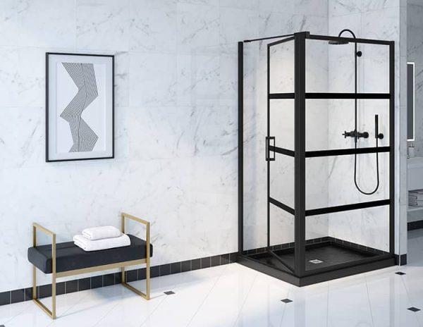 Fleurco Latitude Pivot Shower Door 79 Inch Height
