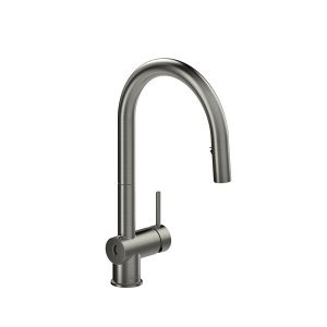 Riobel AZ211SS Azure Touchless Kitchen Faucet In Stainless Steel