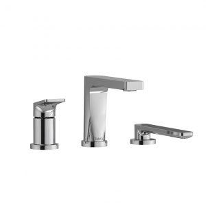 Riobel OD10C ODE 3-Piece Deck-Mount Tub Filler With Hand Shower