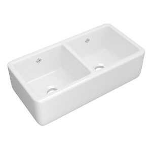 ROHL Shaws RC3719WH Lancaster Farmhouse Sink In White