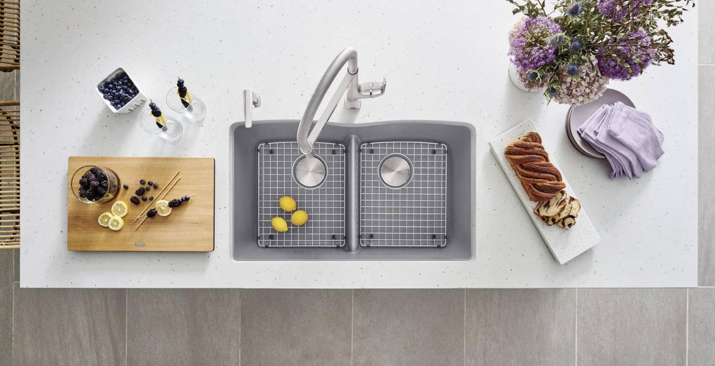 Blanco undermount kitchen sink